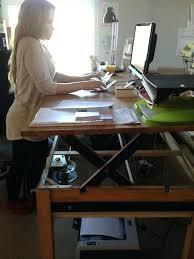 adjule height desk diy automatic standing