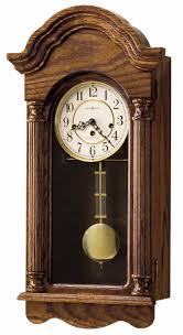 innovative cherry wood wall clock 16 pendulum