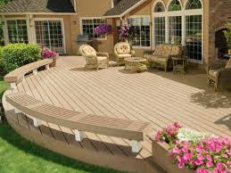 Backyard Deck Designs Plans Cool Decorating