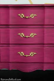 paint colors for furniture. Gorgeous Rich Color! And No Priming Required With This Paint! Glamorous Dresser Makeover Paint Colors For Furniture