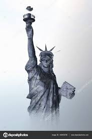 цифровой визуализации статуи свободы стоковое фото 3quarks