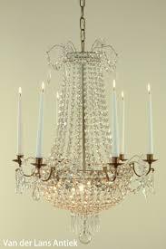 Antike Korblüster Mit Kerzen Van Der Lans Antike Kronleuchter