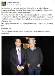 recalling albert camus fashion advice noam chomsky pans glenn chomsky fashion advice