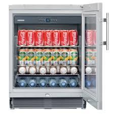 glass door beverage centre open share