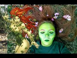 cosplay made easy poison ivy hair and makeup tutorial version i this video i show you how to do cosplay make up for poison ivy