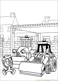 Small Picture Bob The Builder Coloring Page 27 Coloring Page Free Bob the