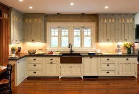 craftsman style kitchen cabinets mission quarter sawn oak lowes