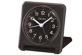 seiko clam travel alarm clock