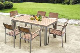 POLYWOOD Chippendale Teak AllWeather Plastic Outdoor Dining Arm Reviews Polywood Outdoor Furniture