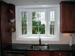 window over sink kitchen bay window over sink home ideas bay window over bay window behind kitchen sink standard sink window height