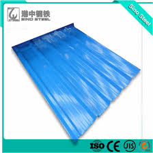 a653 sgcc z275 galvanized corrugated iron roof sheet with sgs test report
