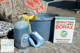 cleaning patio cushions cleaning outdoor cushions with oxiclean