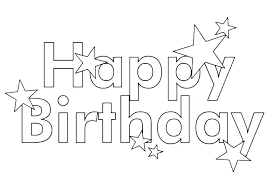 Happy Birthday Color Pages Fathers Day Happy Birthday Coloring Page