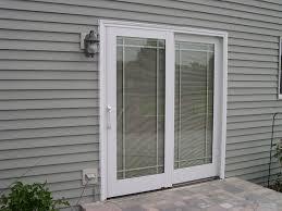 captivating sliding doors menards for your home door decor mesmerizing white metal frame clear glass