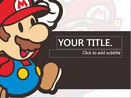 Super Mario Powerpoint Templates 4 Presentation