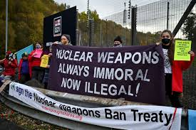 Opinion: A new global treaty bans nuclear weapons. But why didn't Canada  sign? - The Globe and Mail
