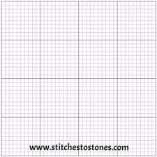 Blank Gridded Adhesive Canvas For Square Diamonds