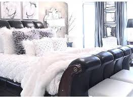 glam bedding leather sleigh bed very nice really like the colour palette used as well hollywood