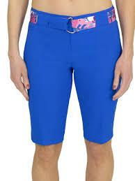Jofit Belted Bermuda Short Nautical Blue