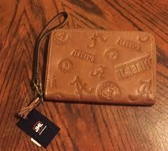 jack mason university of alabama crimson tide women s leather wallet clutch