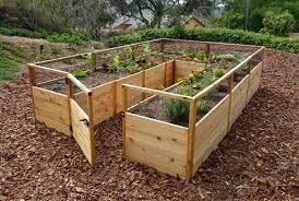 prefab cedar garden kit 8 12