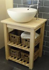 free standing sink. Image Is Loading WashStand-Solid-Birch-Freestanding -Vanity-Unit-for-Bathroom- Free Standing Sink EBay