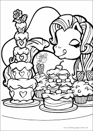Small Picture My Little Pony Printable Coloring Pages Coloring Coloring Pages