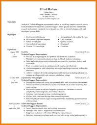 7 Technical Resume Example Mbta Online