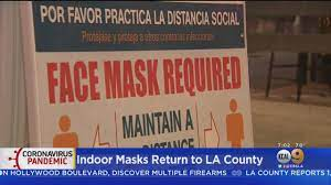 Indoor Mask Mandate In Effect As COVID ...
