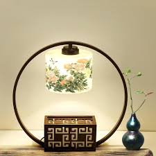 chinese porcelain table lamps uk lamp bedroom bedside ceramic hotel club living room new classical from