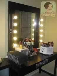 vanity mirror set with lights. diy lighted makeup vanity mirror. i so want to make mirror set with lights m