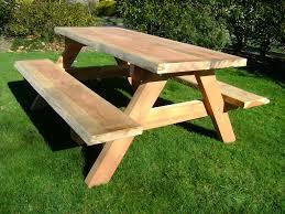 children teak picnic table
