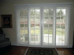 shutter blinds for patio doors white stained wooden sliding patio glass door built in shutter blind