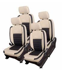 hi art beige and black seat cover set for maruti alto k10 new