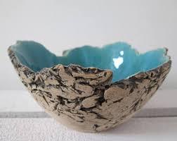 Turquoise Decorative Bowl Decorative Bowls Etsy 50