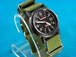 38mm vintage look timex mens military style 24 hr watch image is loading 38mm vintage look timex mens military style 24