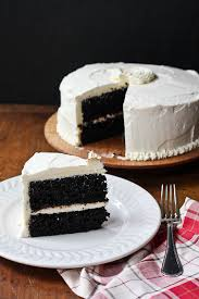 Chocolate Cake With Vanilla Buttercream Frosting The Merry Gourmet