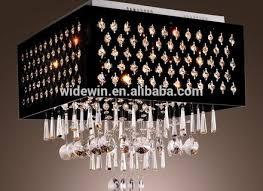 square shape vintage crystal chandeliers antique decoration