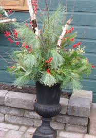 Christmas Decorations For Outdoor Urns 60 best Christmas urns images on Pinterest Diy christmas 2
