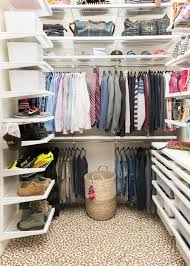 a master closet makeover fit for fashionista