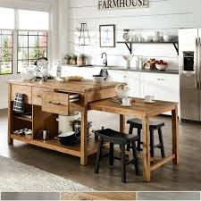 Large Kitchen Island With Table At End Big No Dining Buy Islands