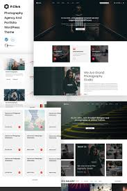 Website Templates Art And Photography Photographer Portfolio