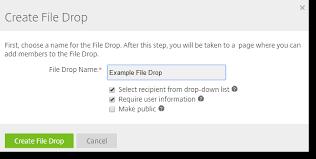 sharefile file drop