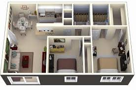 Apartment Design Online Extraordinary 48D Small House Floor Plans Under 48 Sq Ft Smallhouselover