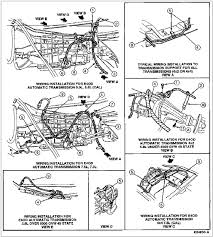 e40d wiring harness for 92 great installation of wiring diagram • bronco e4od transmission wiring diagram wiring diagrams scematic rh 45 jessicadonath de 700r4 wiring harness ecm