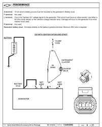 late model alternator wiring question the present the instructions reference using either the generator light or a 50 ohm resistor inline to the l terminal on the alternator how does this translate when