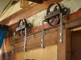 exterior barn door designs. Mount The Track Exterior Barn Door Designs