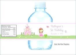 Water Bottle Labels Diy Wedding Label Template – Webbacklinks.info