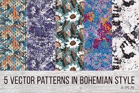 Bohemian Patterns Classy 48 Bohemian Patterns Graphic Patterns Creative Market