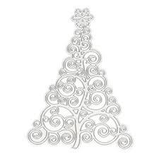 Amazon Com C Pioneer Christmas Tree Cutting Dies Stencil
